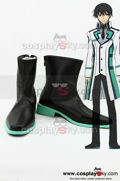 The Irregular at Magic High School Tatsuya Shiba Mahesvara Cosplay Chaussures