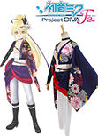 Vocaloid Project DIVA-F 2 Hatsune Miku Cosplay Costume