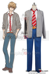 Wolf Girl and Black Prince Kyouya Sata Uniforme  Cosplay Costume