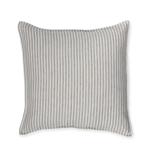 Natural Ticking Linen Cushion Cover