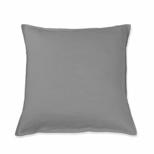 Light Grey Linen Cushion Cover