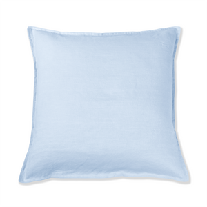 Light Blue Linen Cushion