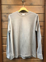 r. options, Long Sleeve Pigment Dyed Tee Shirt