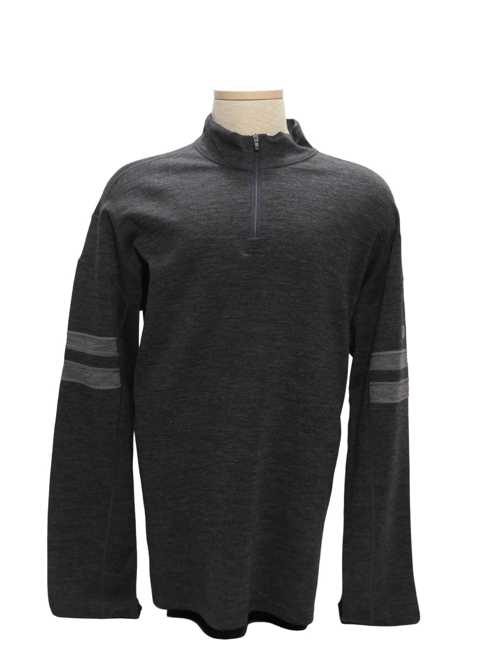 KUHL TEAM 1/4 ZIP MERINO WOOL SWEATER