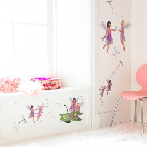Friendship Fairies Wall Stickers Set