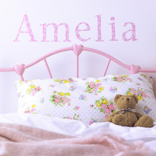 Personalised Wall Letter Stickers Daisy