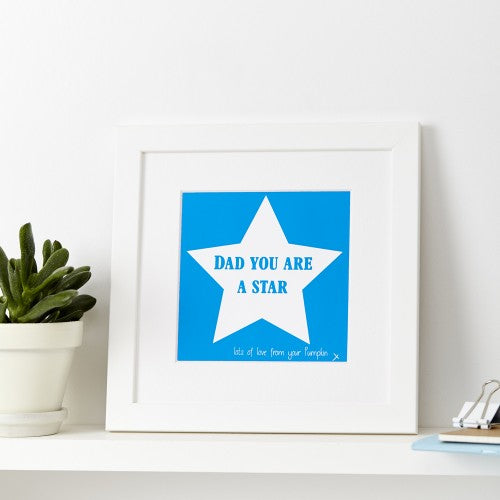Personalised You Are A Star Print