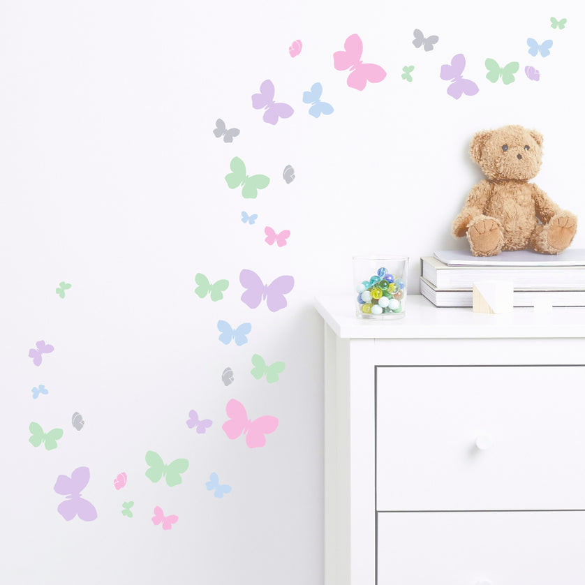 Butterfly Flutter Wall Stickers