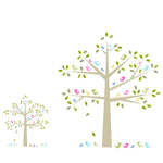 Birds In A Tree Wall Stickers