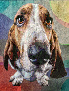 The basset hound jigsaw puzzle 500 piece
