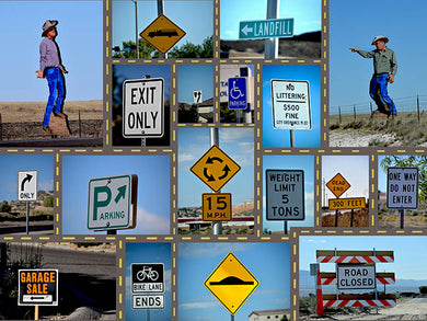 Street Signs 500 Piece Jigsaw Puzzle