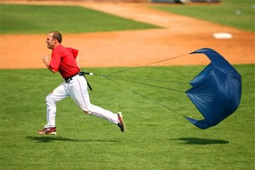 Baseball Parachute - Increase Your Speed and Power Take Off!