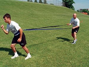 Coach's Quick Release Harness or Belt - Develop Strength and Power for Acceleration