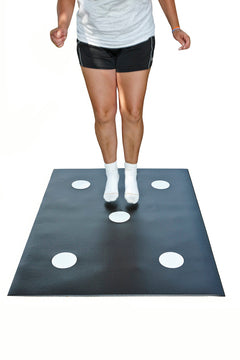 DOT MAT for Agility, Balance, Quickness and Coordination - 5 Dots!