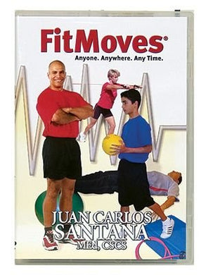 "Fitmoves DVD! Juan Carlos Santana MEd, CSCS- The best of Spinning, Body Pump, Step, Core and even ""Boot Camp"""