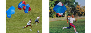 POWER FITNESS PARACHUTE - BEST TRAINING PARACHUTE ON THE MARKET! USED BY THE PROS FOR SPEED TRAINING!