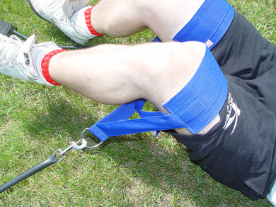 Thigh Strap (Padded) - Attach to Bunji or Weight Lifting Machine
