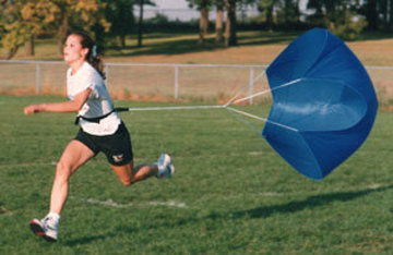 Triathlete Parachute - Economy Chute - Perform Better - For Speed, Agility, Running & Strength