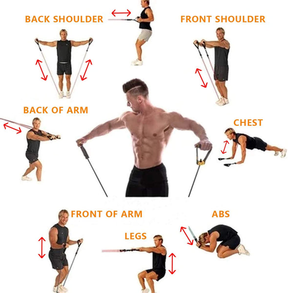 Home Resistance Bands/ Leg Exercise Bands Fitness Butt