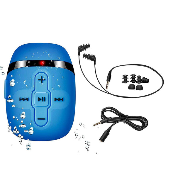 Waterproof music player for swimming with underwater headphones Waterproof Swimming music player Sewosports