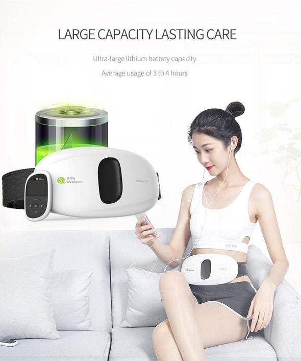 Waist Abdomen Smart Massager -8 modes,15 classes Intensity,Multifunctional cordless Waist Abdomen massager Massager Sewobye