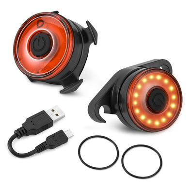 Smart Built-in Accelerometer Cycling Lights, High Power COB Bike Light, Waterproof Tail Light cycling light Sewosports