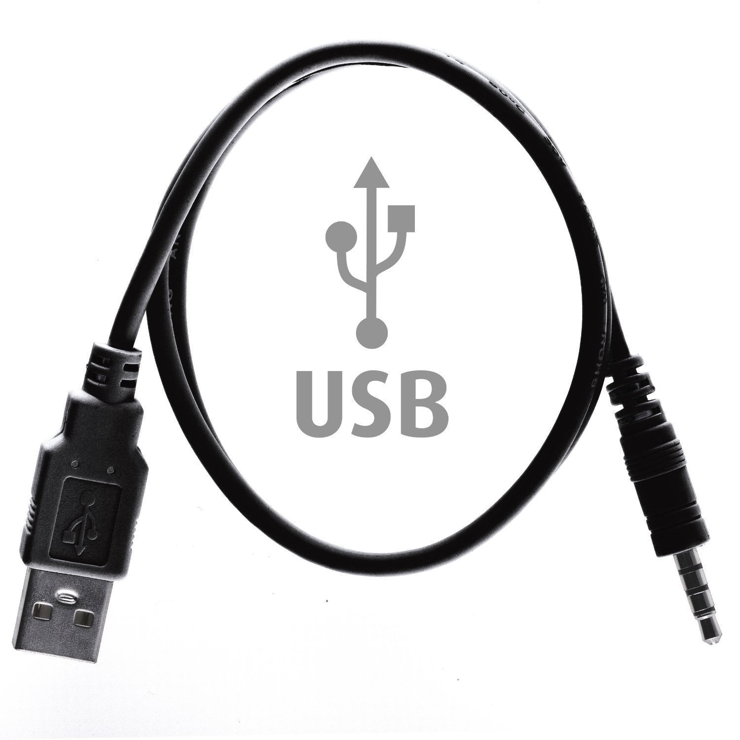 The original replacement USB cable for Sewobye's Waterproof Swimming MP3 Players Sewosports