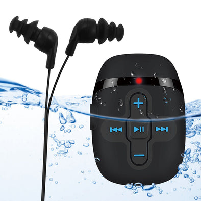 Swimming MP3 player and waterproof Audio player Waterproof Swimming music player Sewobye