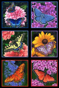 Butterfly Garden (price per panel)