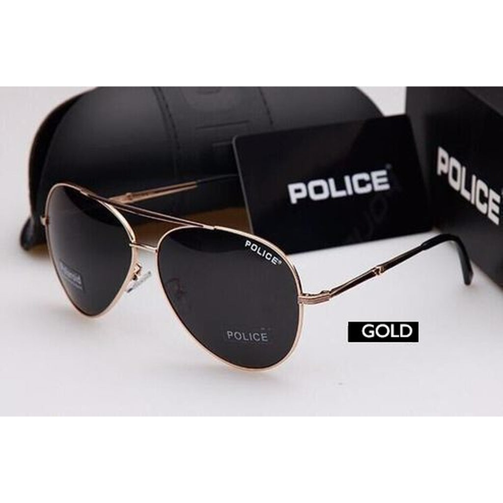 f956525be7d5 2018 New Design Hot Sale Brand POLICE Polarized Fashion Sunglasses Cool  Men's Outdoor&Sports Metal Frame Sunglasses ...