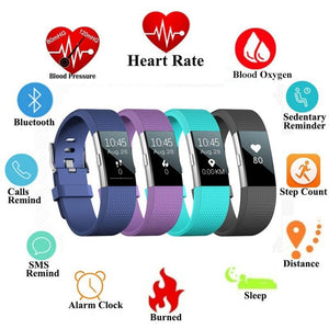 Bluetooth Smart Band S18 Support Heart Rate Blood Pressure Monitor Message Reminder Fitness Tracker for IOS Android