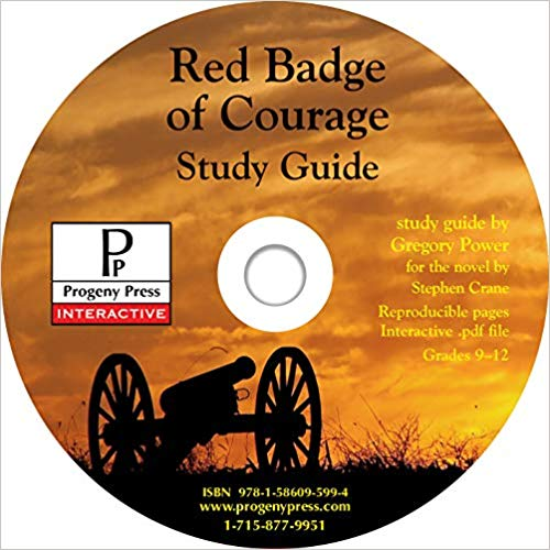 Progeny Press: Red Badge of Courage Study Guide CD-Rom