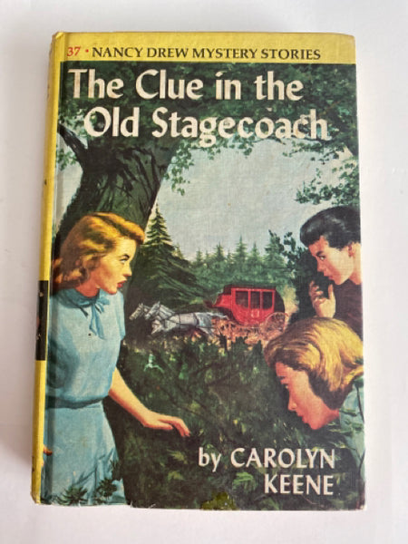 Nancy Drew #37: The Clue in the Old Stagecoach