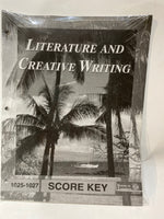 Literature and Creative Writing Score Keys 1025-1036