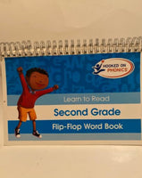 Hooked on Phonics Flip-Flop Word Book:  Second Grade Learn to Read