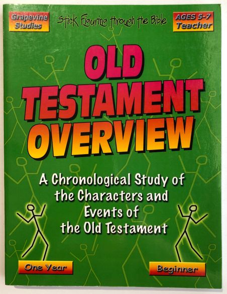 Old Testament Overview Stick Figuring
