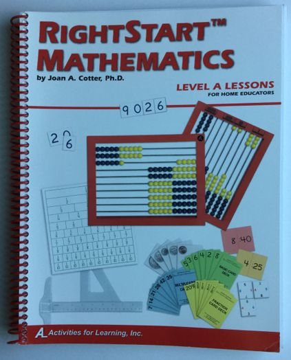 Right Start Mathematics Level A Lessons