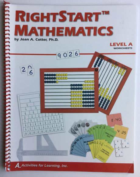 Right Start Mathematics Level A Worksheets