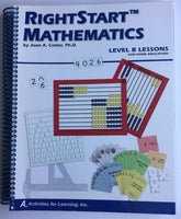 Right Start Mathematics Level B Lessons