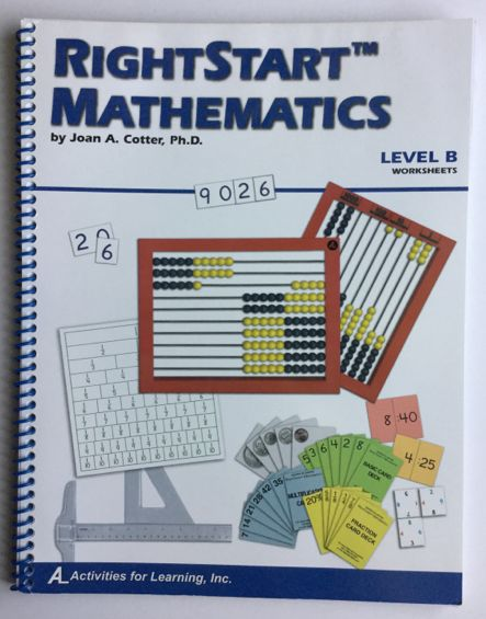 Right Start Mathematics Level B Worksheets
