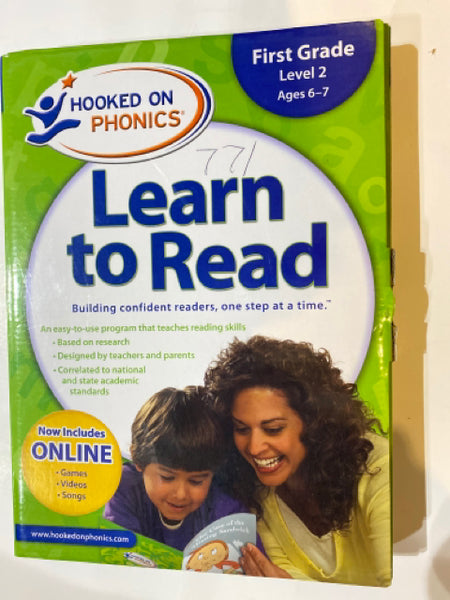 Hooked on Phonics Learn to Read  Level 2 1st Grade