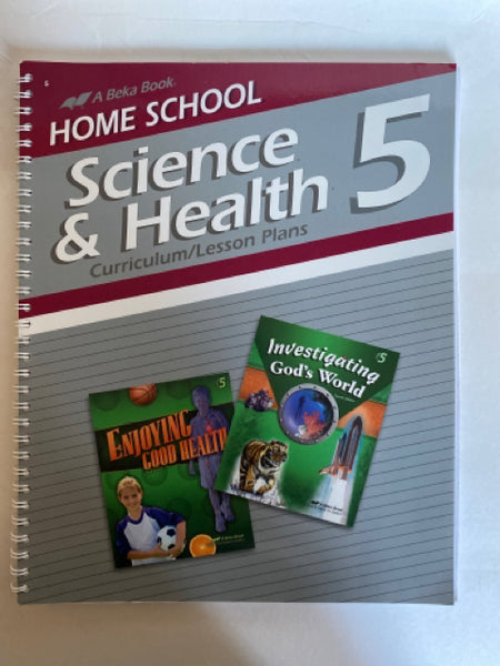 Science and Health Curriculum Lesson Plans Grade 5