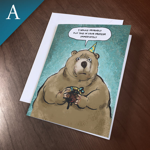 "Greeting Card (Any Occasion) - ""Present"""