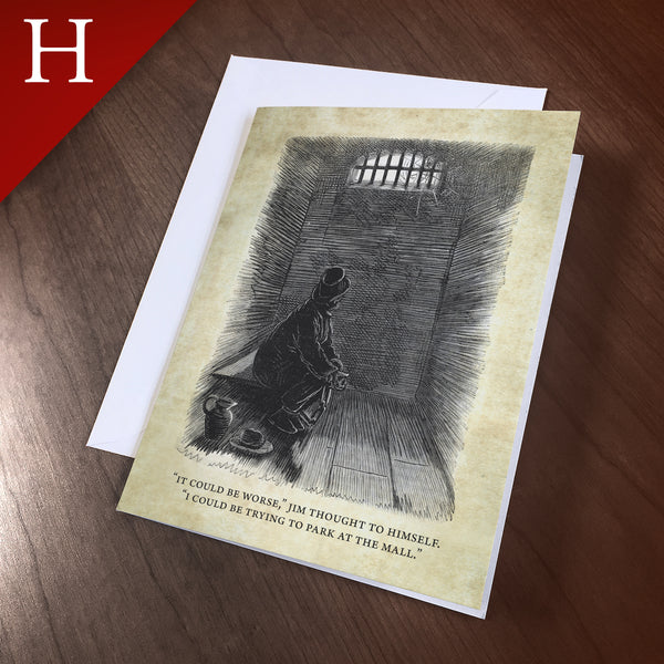"Greeting Card (Holidays) - ""Jail"""