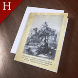 "Greeting Card (Holidays) - ""Wise Man"""