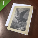 "Greeting Card (Thank You) - ""Eagle"""