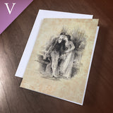 "Greeting Card (Valentine) - ""Whisper"""