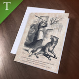 "Greeting Card (Thank You) - ""Wolf"""