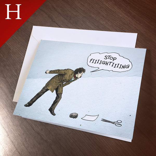 "Greeting Card (Holidays) - ""The Negotiator"""