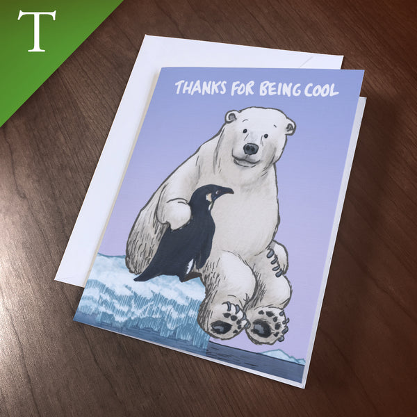 "Greeting Card (Thank You) - ""Cool"""